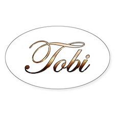 Gold Tobi Decal