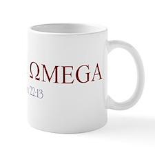 Red Alpha Omega Mug