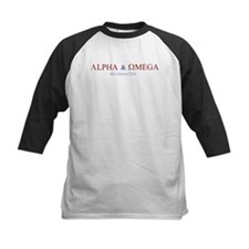Red Alpha Omega Tee