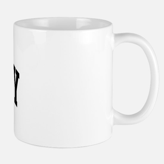 BENTLEY (curve-black) Mug