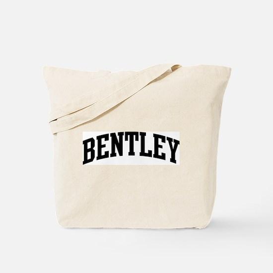 BENTLEY (curve-black) Tote Bag