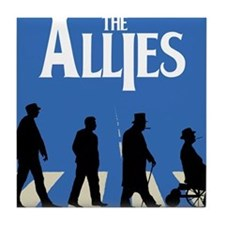 Allies Road Tile Coaster