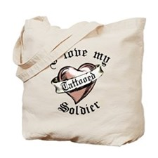 Unique Sexy army wife Tote Bag