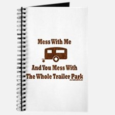 Dont Mess With Trailer Trash Journal