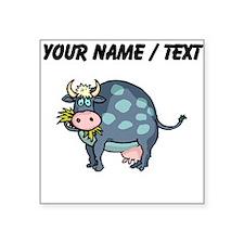 Custom Cow Grazing Sticker