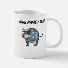 Custom Cow Grazing Mugs