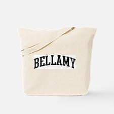 BELLAMY (curve-black) Tote Bag