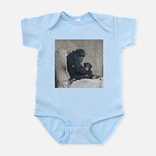 Chimpanzee Baby and Mummy Body Suit