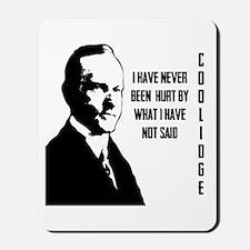 Calvin Coolidge Mousepad