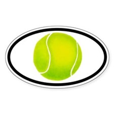 Funny Tennis Decal