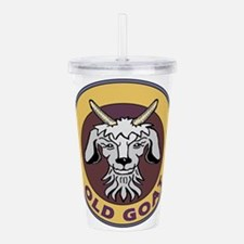 old goat .png Acrylic Double-wall Tumbler
