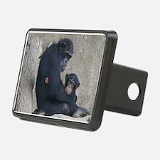 Chimpanzee Baby and Mummy Hitch Cover