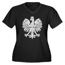 Polish Flag Eagle Plus Size T-Shirt