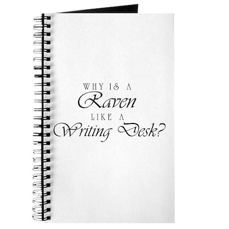 Raven Like a Writing Desk Journal