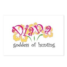 Diana Postcards (Package of 8)