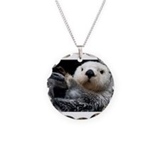 a cute otter Necklace