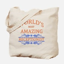 Receptionist Tote Bag