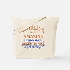 Receptionist Tote Bag
