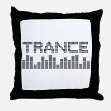 Unique Trance music Throw Pillow