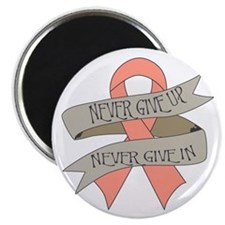"""Endometrial Cancer 2.25"""" Magnet (10 pack)"""