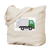 Garbage truck Canvas Totes