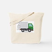 Cute Garbage truck Tote Bag