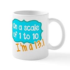 Cool 13.1 only half crazy Mug