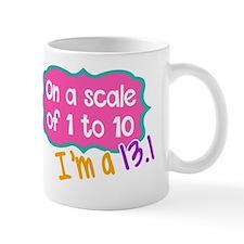 Unique 13.1 only half crazy Mug