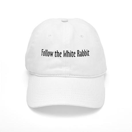 Follow the White Rabbit Cap