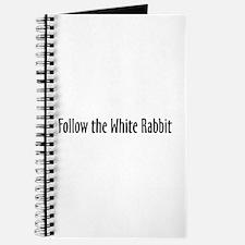Follow the White Rabbit Journal