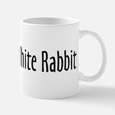 Follow the White Rabbit Small Mugs