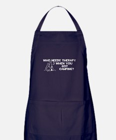 Who Needs Therapy Camping Apron (dark)