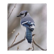 Blue Jay Throw Blanket