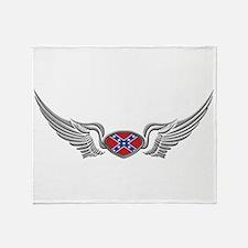 Rebel Wings Throw Blanket