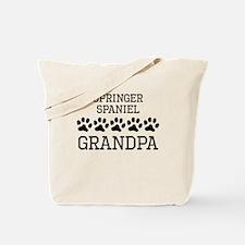 Springer Spaniel Grandpa Tote Bag