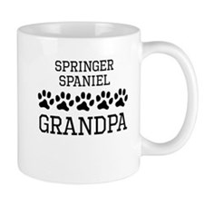 Springer Spaniel Grandpa Mugs