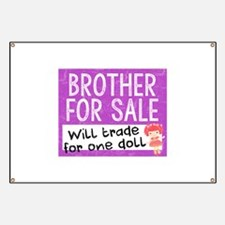 Brother For Sale Banner