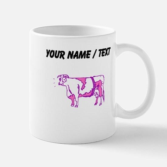 Custom Purple Cow Mugs