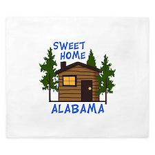 Sweet Home Alabama King Duvet