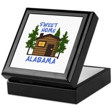 Sweet Home Alabama Keepsake Box