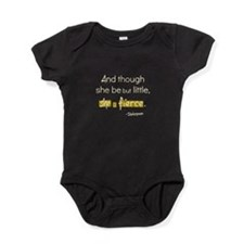 And Though She Be But Little, Is Baby Bodysuit