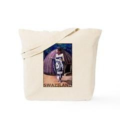 Vintage Swaziland Art Tote Bag