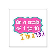 I'm a 13.1 Pink Sticker
