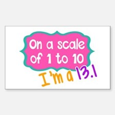 I'm a 13.1 Pink Decal