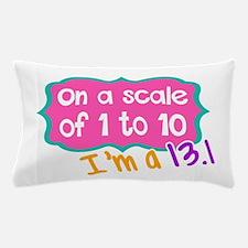 I'm a 13.1 Pink Pillow Case