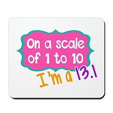 I'm a 13.1 Pink Mousepad