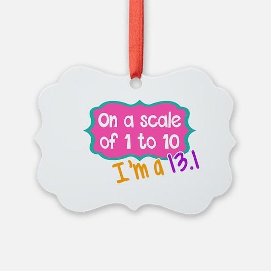 I'm a 13.1 Pink Ornament