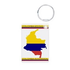 Colombia es pasion Keychains