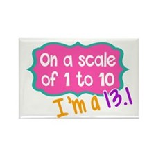 I'm a 13.1 Pink Magnets