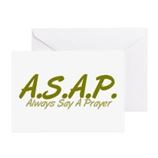 Camouflage ASAP Greeting Cards (Pk of 10)